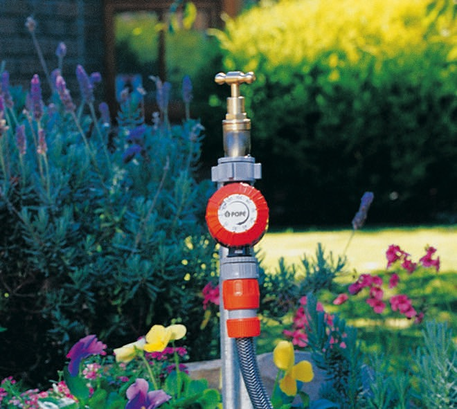 Take control of your garden with a tap timer