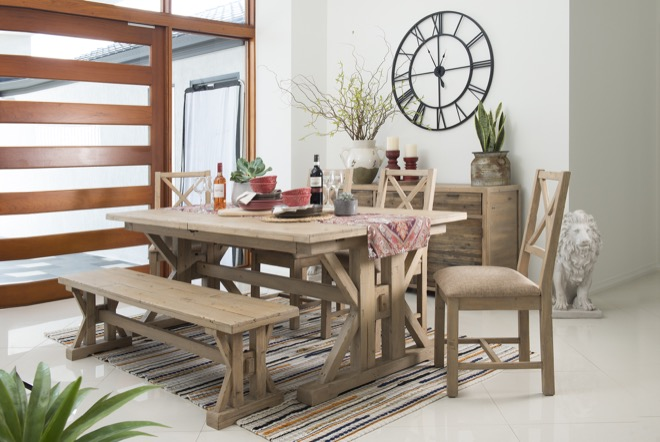 Pgt Reclaimed S Tuscanspring Dining Collection