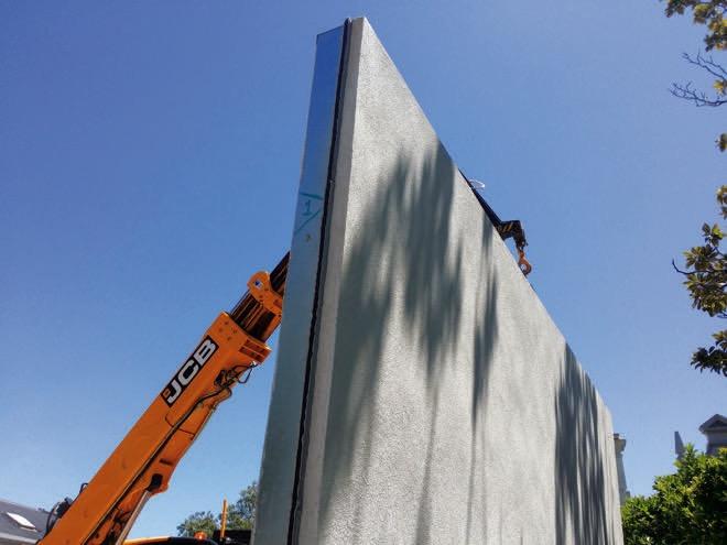 Unique pre-built walls: an innovative approach