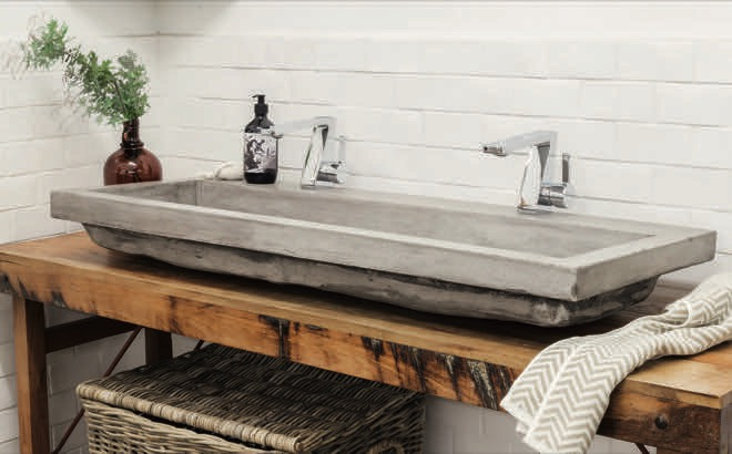 Solid sinks and basins by Schots