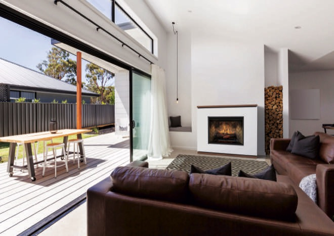 The future of heating is here: Strata fireplace from Dimplex