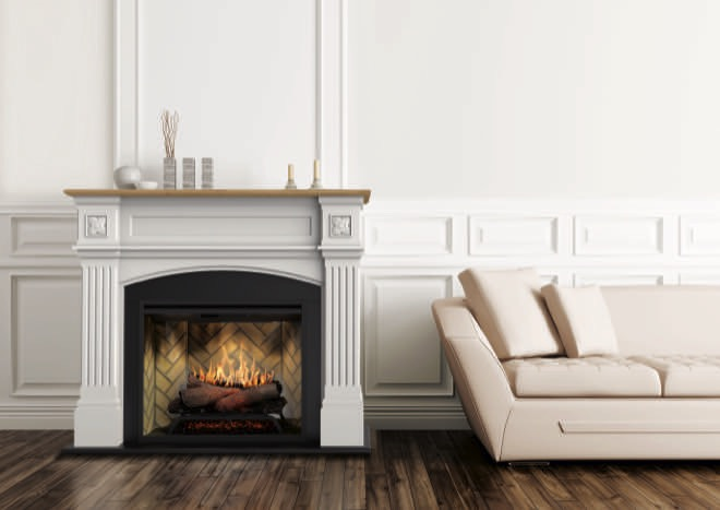 The future of heating is here: Windlesham fireplace