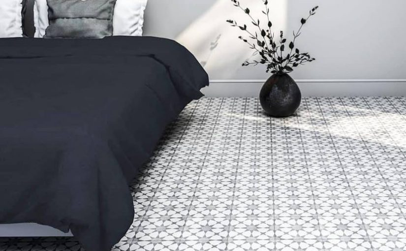 Spanish Patterned Porcelain Tile Kalafrana
