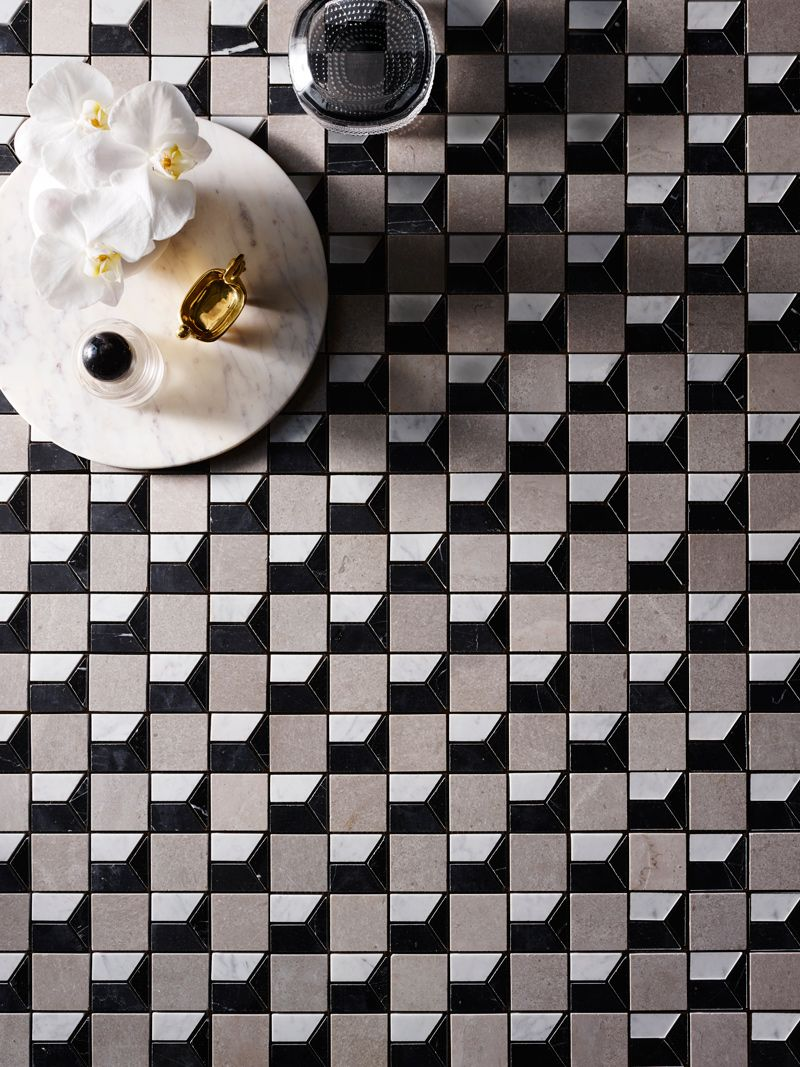 Scarpa Marmo Marble Mosaic Tiles By Greg Natale1