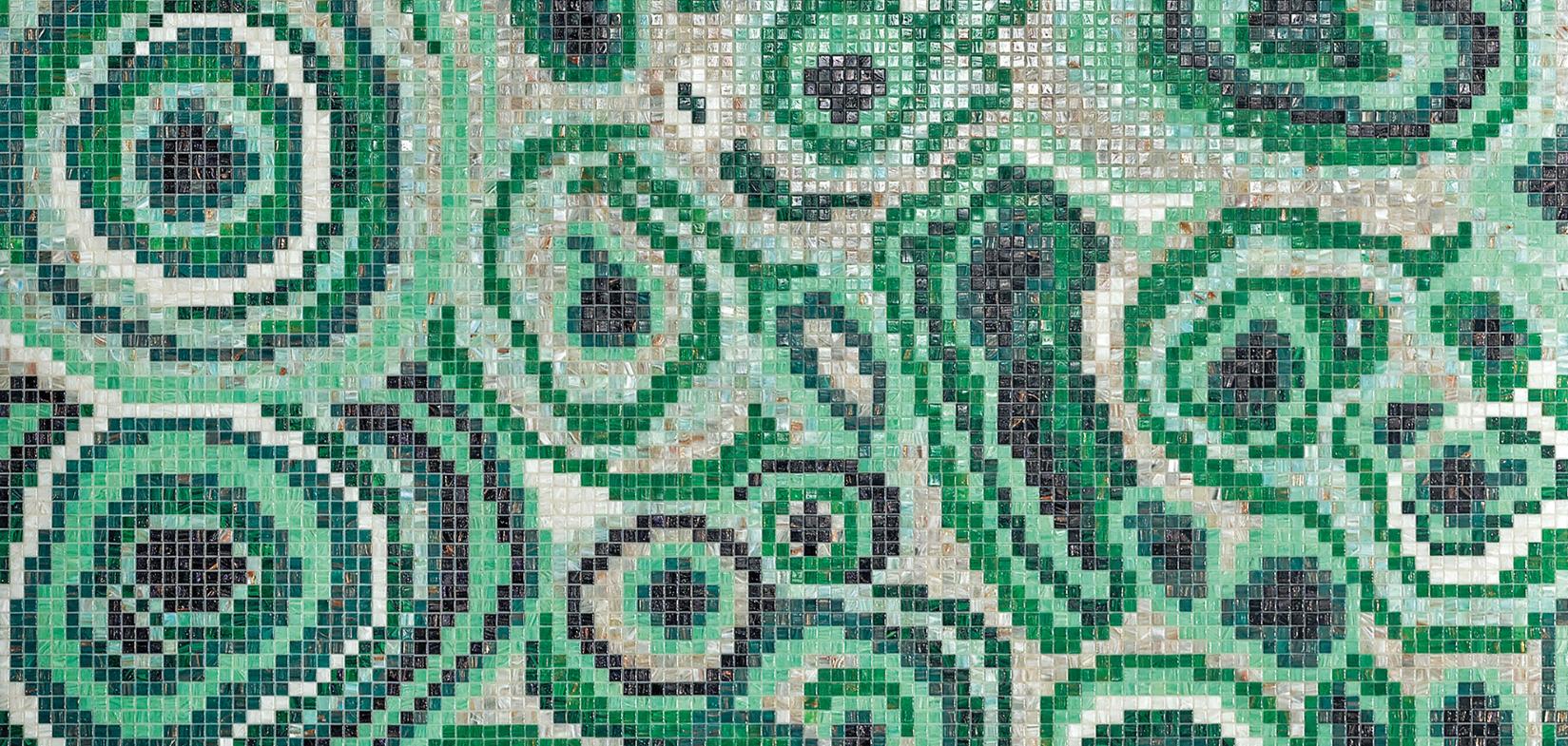 Bisazza Mosaico New Malachite Green Design Greg Natale