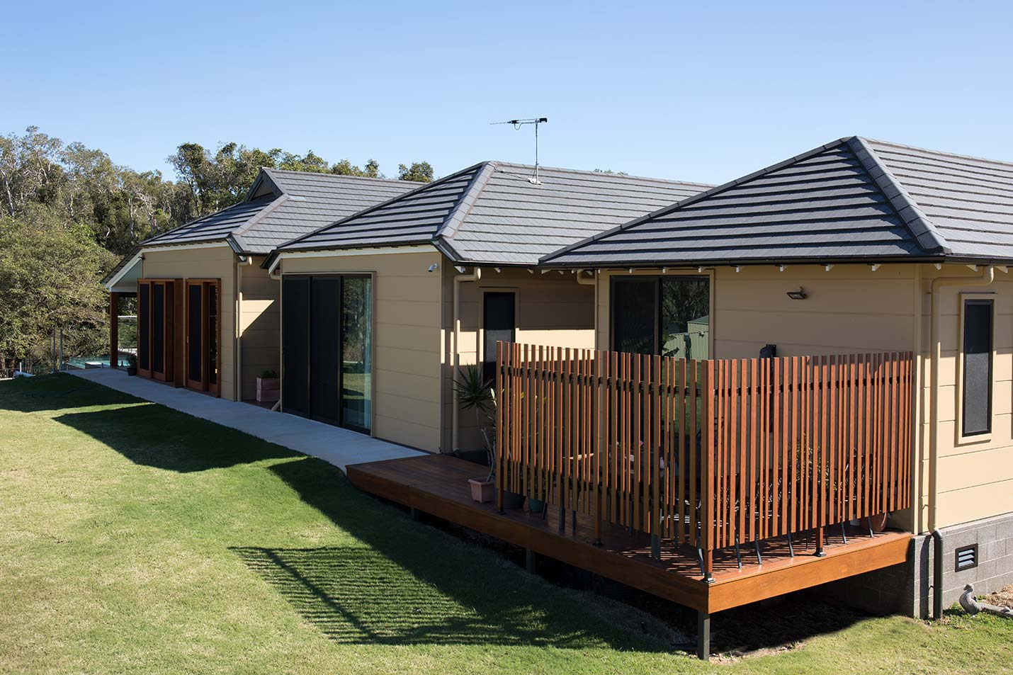 Zen And The Art Of Roofing A Japanese Style Home Design