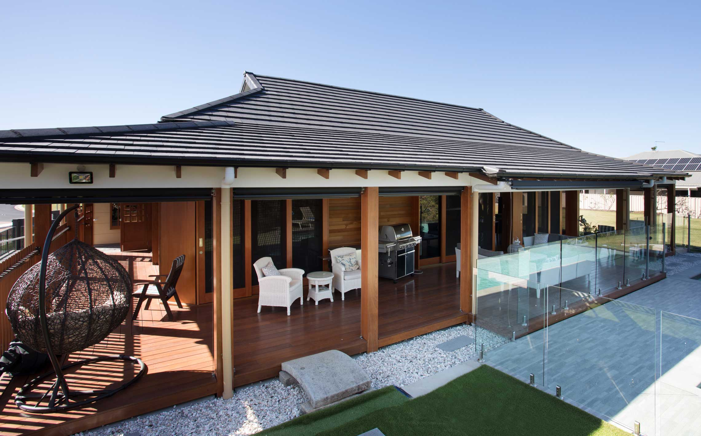Zen and the Art of Roofing: a Japanese-style home design