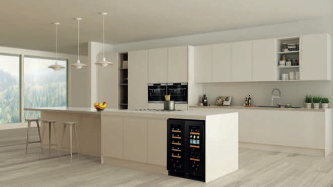 Slimline storage: a wine cabinet for apartment living