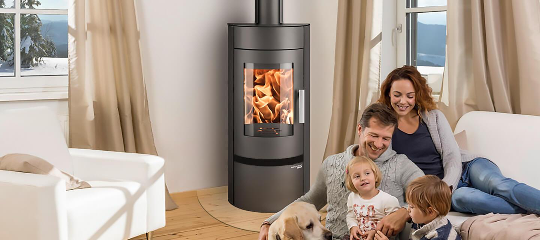 Wood-burning efficiency: the Euro Fireplaces range