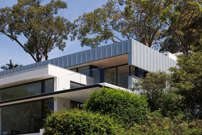Harbourside haven: the Mosman box home