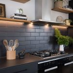 Going over to the dark side in this all-black kitchen