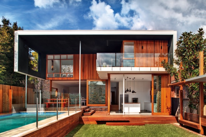sustainable modern home