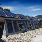 Eco conscious home that incorporates solar power and on site water treatment