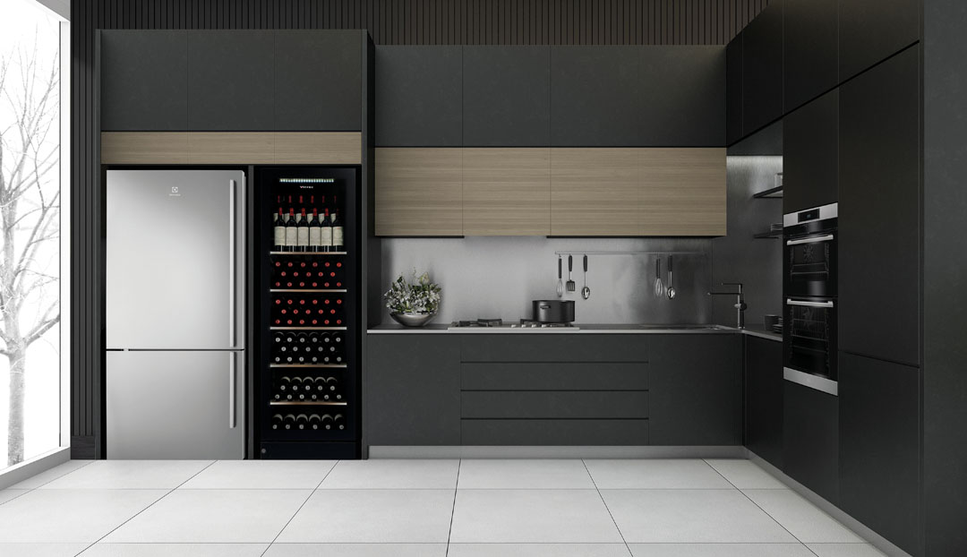 Vintec has cabinets down to a wine art