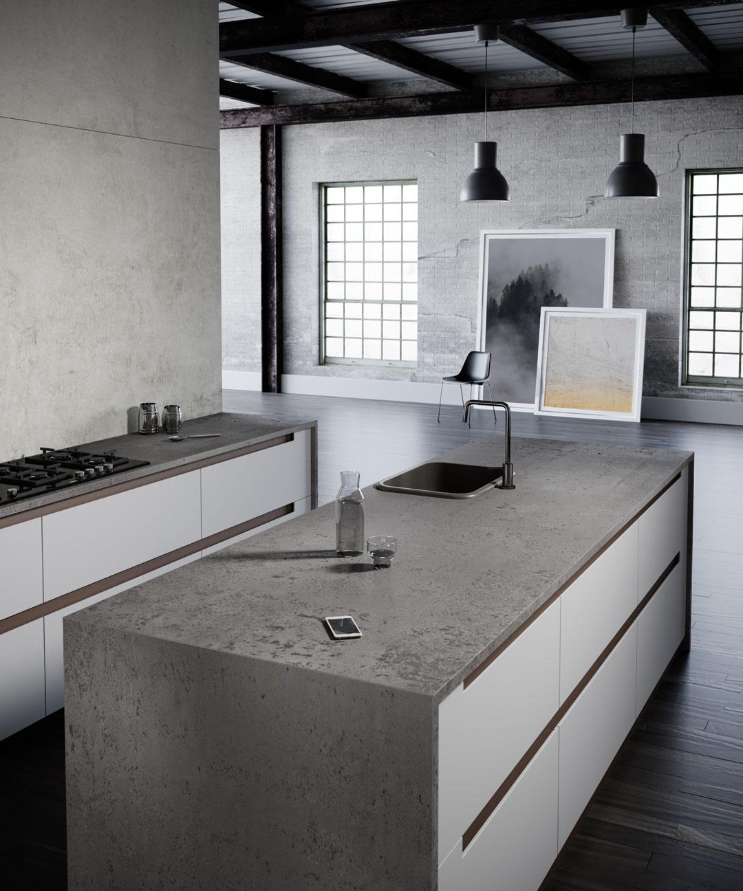 Silestone Kitchen Brooklyn