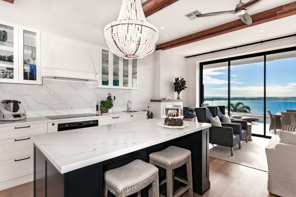 This kitchen is a coastal dream
