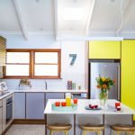 A bright and inviting kitchen with a spectacular finish
