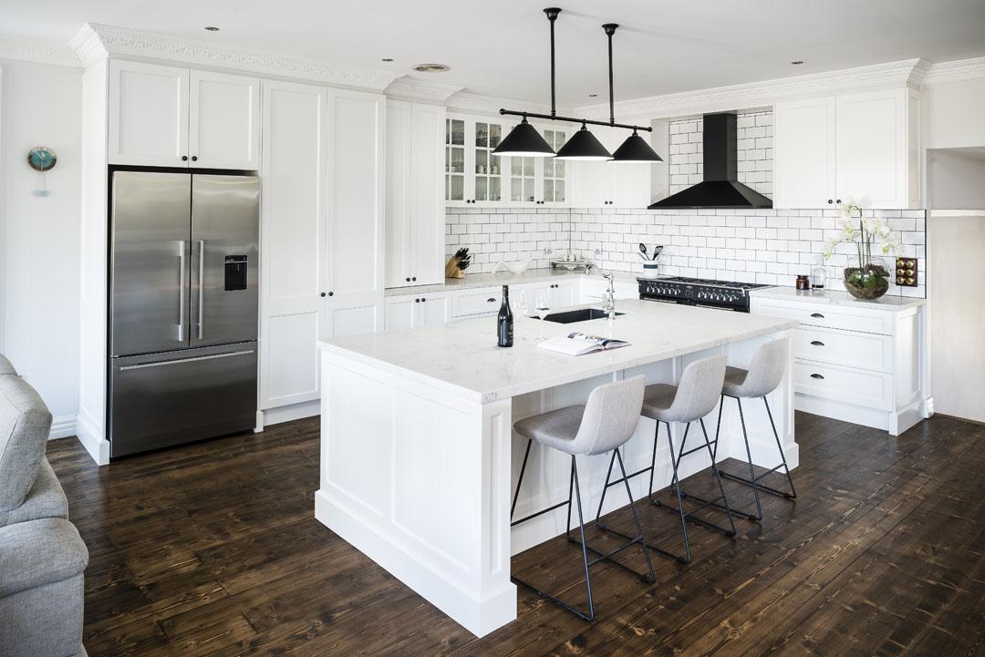 Classic design meets contemporary kitchen