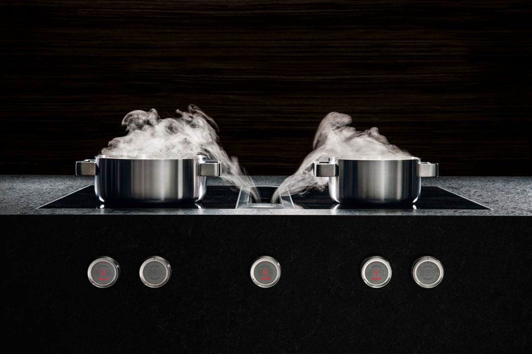 Innovation not imitation in downdraft rangehood design