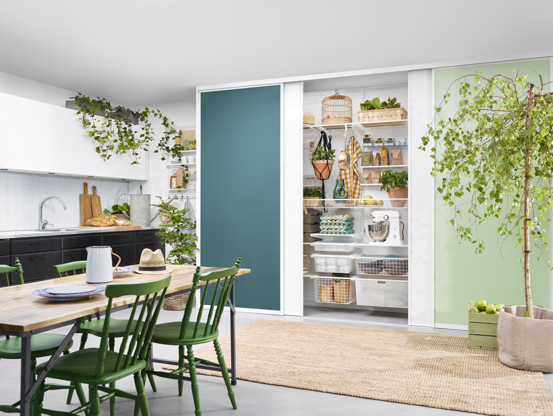 Pantry organisation from the inside out