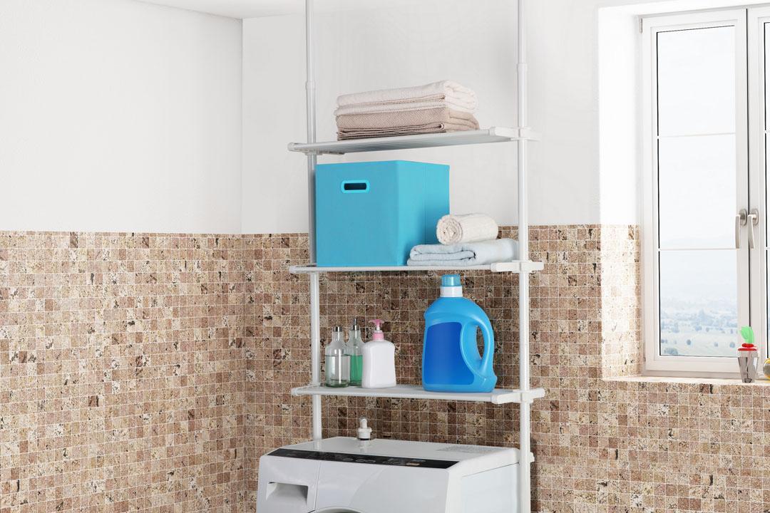 Telescopic Laundry Shelf 2