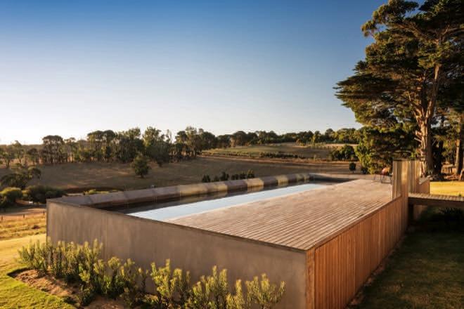 Rural retreat: a scenic Mornington Peninsula pool design