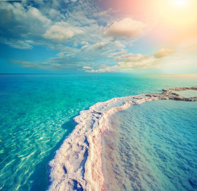 mineral crystals dead sea
