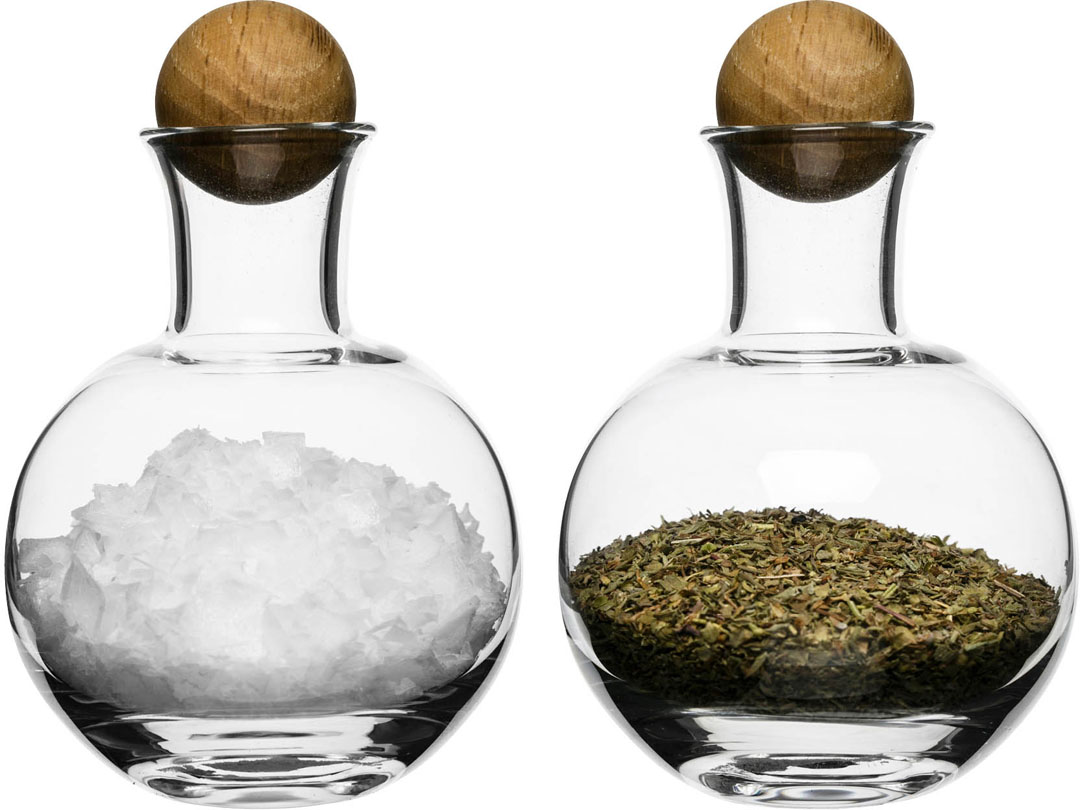 Flntr Outliving 15755841a5 Sf2sapxx Oval Oak Salt & Pepper Bottles