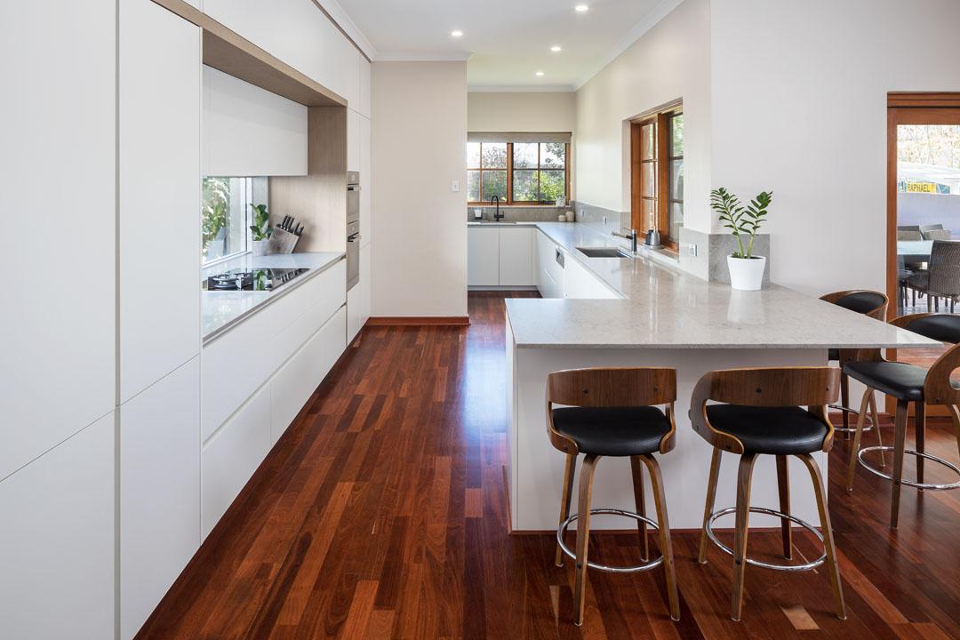 A sleek and subtle kitchen design by Retreat Design