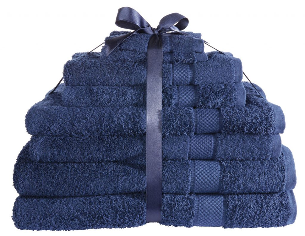 Simply Luxurious Blue Towel Bundle Very.co.uk