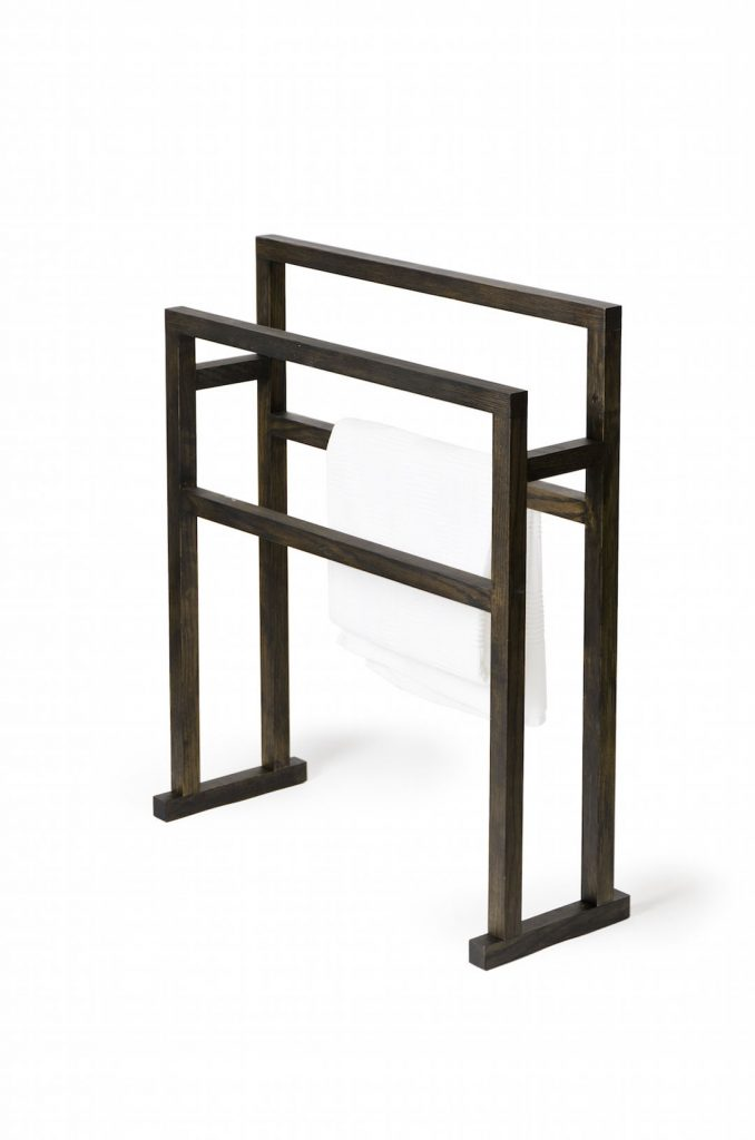 Simply Luxurious Wireworks Mezza Grande Towel Rail Blackbydesign