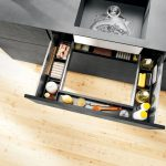 Space-saving cabinet solutions by Blum