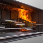 EK Outdoor Fireplace Kitchen: Grill then Chill