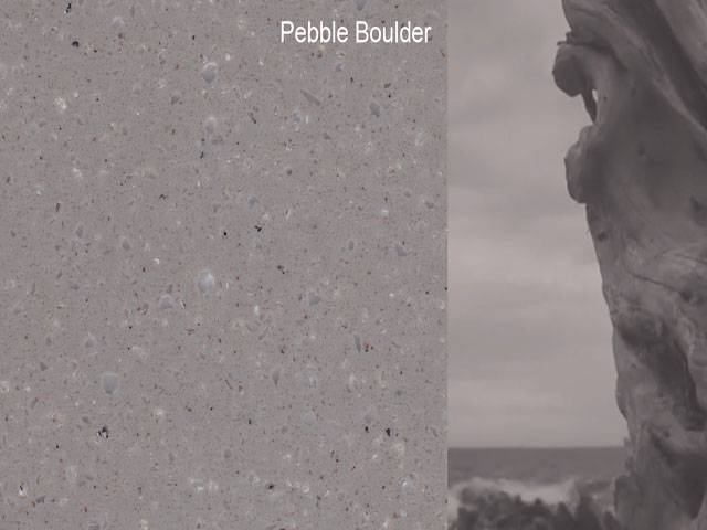 Pebble Boulder