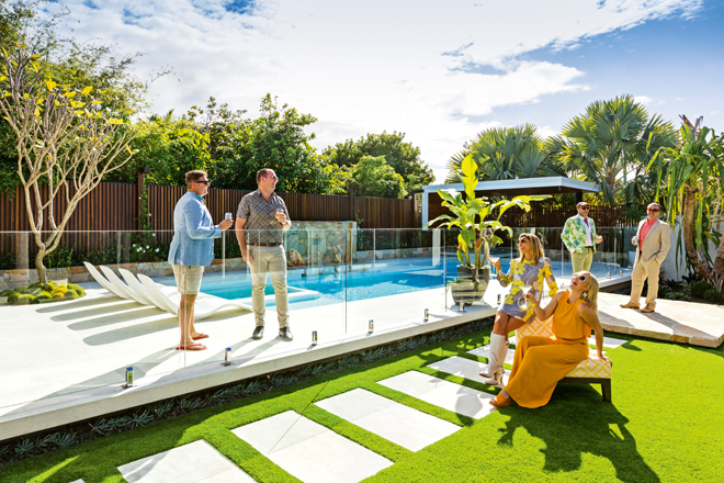 Palm Springs outdoor design: a TV host's on-trend retreat