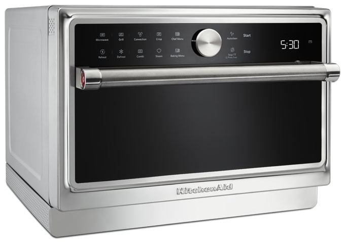 Farmhouse Kitchenaid Baker Assist Microwave Oven