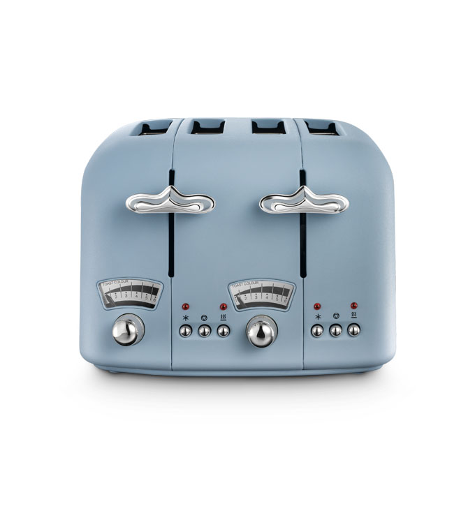 Farmhouse Argento Flora, Agave Blue Toaster