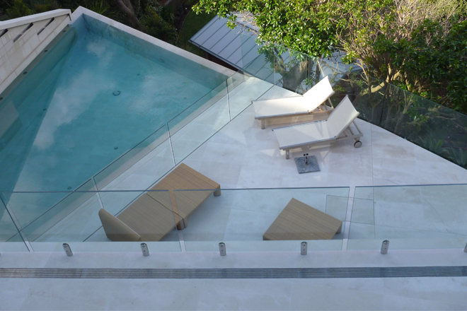 When constructing a beautiful new pool, or renovating an existing one, what's the secret to keeping your glass looking like new?
