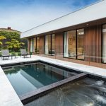 A compact pool design perfect for this Bayside home