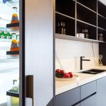 A streamlined and uber-stylish kitchen