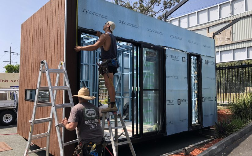 Off-grid living: introducing ECOBOX