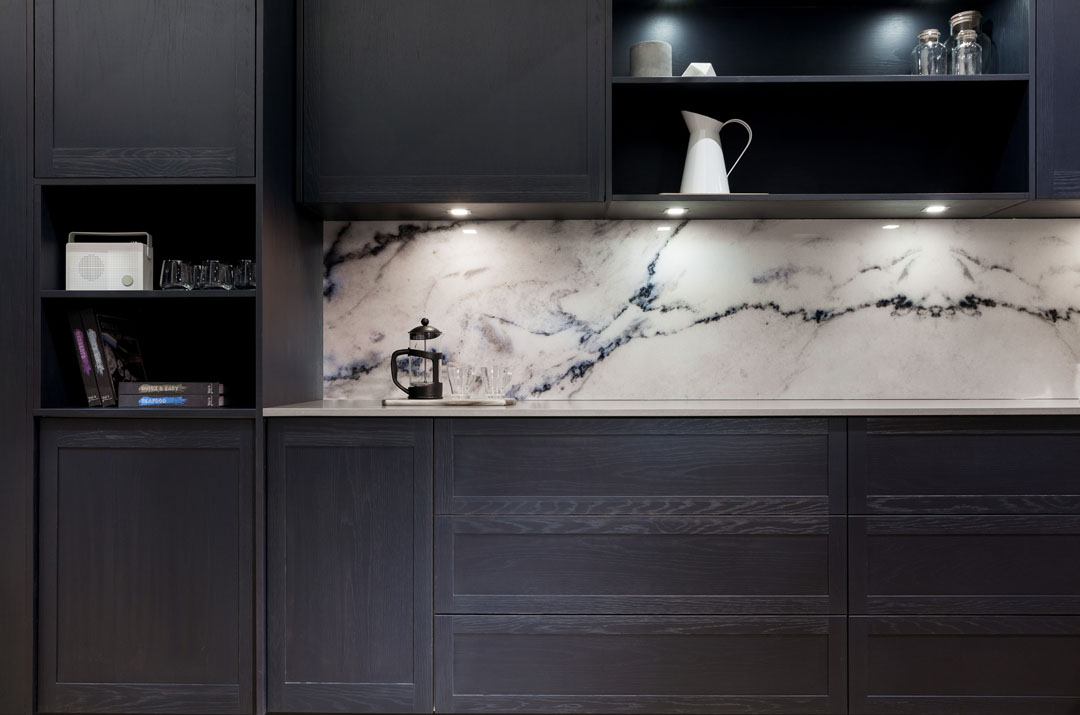 Deco Splash Roccia Marble Finish Kitchen Splashback
