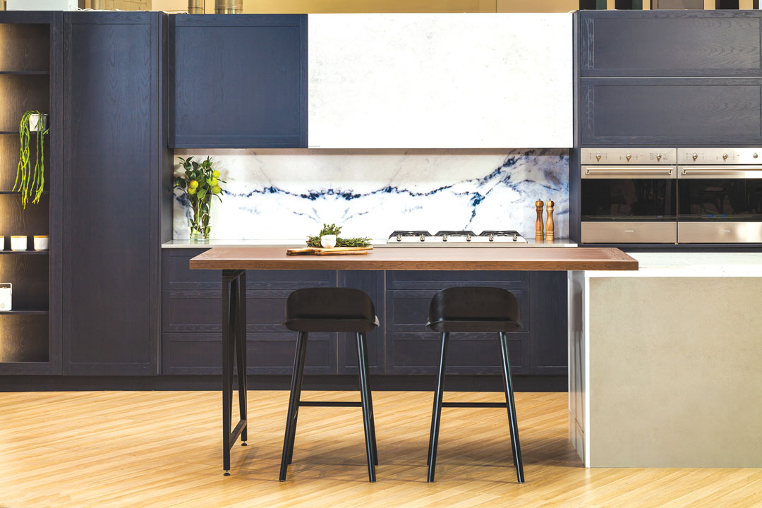 Decosplash Roccia Marble Look Kitchen Splashback 1