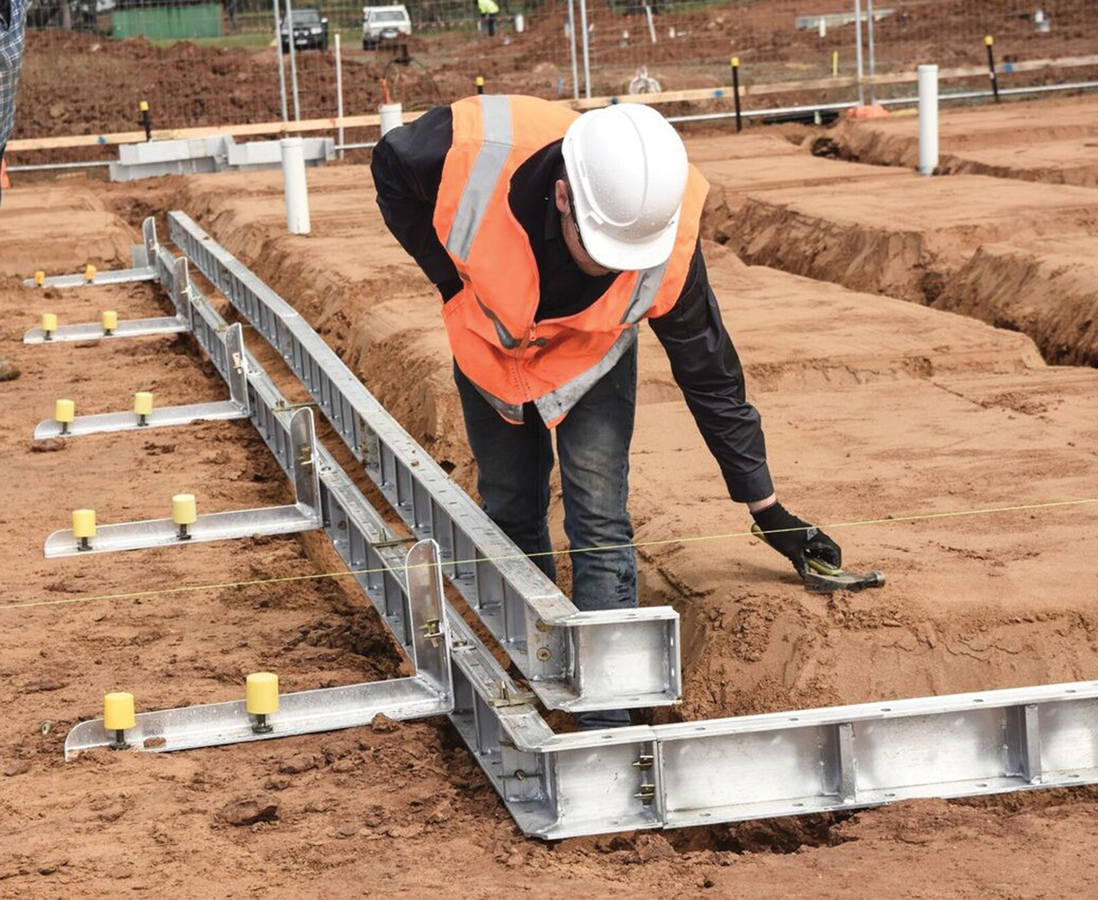 Aluminium Formwork: the perfect new build solution