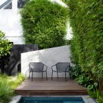 This Annandale pool and garden provides the perfect exotic oasis