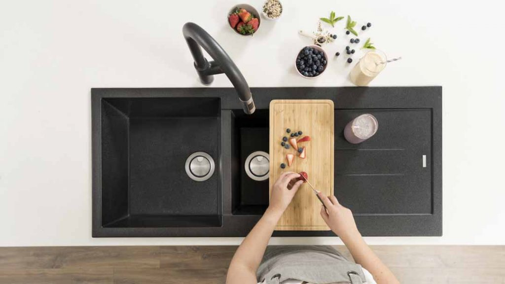 A rock-solid sink for your kitchen