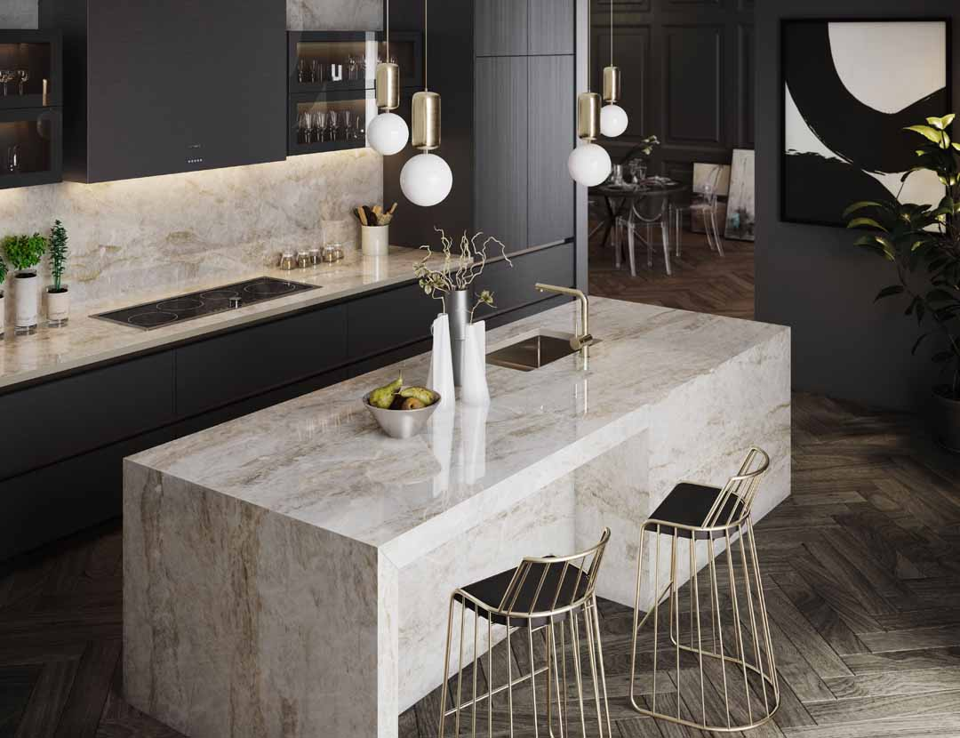 Introducing Dekton® Stonika: hyperrealistic beauty of natural stone