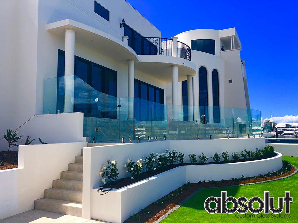 Absolut Custom Glass External Glass Balustrade Gold Coast (16)