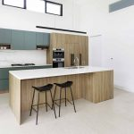 This kitchen's strong colour scheme brings the wow factor