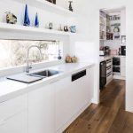 The uncompromising style of this kitchen simply shines